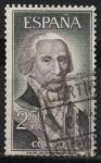 Stamps Spain -  Gaspar Melchor d´Jovellanos