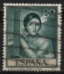 Sellos de Europa - España -  Romero d´Torres (Niña d´l´guitarra )