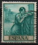 Sellos de Europa - España -  Romero d´Torres (Poema d´Cordoba))