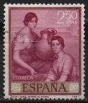 Stamps Spain -  Romero d´Torres (Marta y Maria)