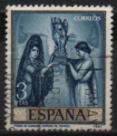 Stamps Spain -  Romero d´Torres (Poema d´Cordoba))