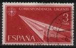 Stamps Spain -  lecha d´Papel (Tipo d´1956)