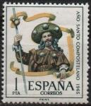 Sellos de Europa - España -  Año Santo Composrelano
