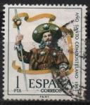 Stamps Spain -  Año Santo Composrelano