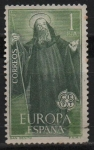 Stamps Spain -  Europa-CETP. (San Benito patron d´europa)