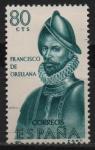 Sellos de Europa - España -  Francisco d´Orellana