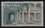 Sellos de Europa - España -  Monasterio d´Yute (Claustro)