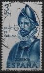 Stamps : Europe : Spain :  Francisco d´Orellana