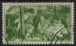 Stamps Spain -  Navidad (Nacimiento 1965)