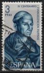 Sellos de Europa - España -  IV centenario d´á Evangelizacion d´Filipinas (Padre Andres d´Urdanete))