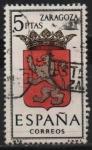 Stamps Spain -  Zaragoza