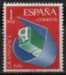 Sellos de Europa - España -  Salon d´Artes Graficas,envases y embalaje