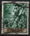Sellos de Europa - España -  Cristo Dicta reglas