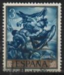 Sellos de Europa - España -  Jacob y el Angel