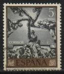 Stamps Spain -  Las cinco partes del mundo