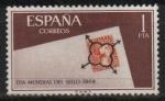Stamps Spain -  Dia d´Sello (Matasellos d´Araña)