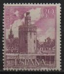 Sellos de Europa - España -  Torre d´Oro (Sevilla)