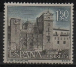 Stamps Spain -  Monasterio d´Guadalupe (Caceres)
