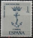 Sellos de Europa - España -  Semana naval en Barcelona