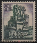 Stamps Spain -  Castillos d´España (Bultron Vizcaya)