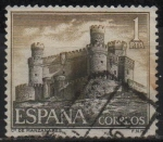Stamps Spain -  Castillos d´España (Manzanares el Real Madrid)
