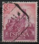 Sellos de Europa - España -  Castillos d´España (Almansa Albacete)