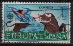 Stamps Spain -  Europa CEPT (El racto d´Europa )
