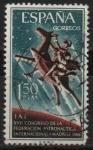 Sellos de Europa - España -  XVII Congreso d´l´Federacion Astronautica Internacional