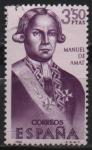Stamps Spain -  Manuel d´Amat y Junyent