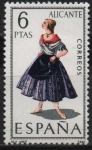 Stamps Spain -  Alicante