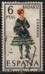 Stamps Spain -  Badajoz