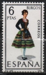 Stamps Spain -  Barcelona