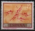 Sellos del Mundo : Europa : España : Homenaje al pintor desconocido (Cueva d´Morella