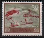 Stamps : Europe : Spain :  Homenaje al pintor desconocido (Remijia)