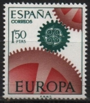 Stamps Spain -  Europa 1967