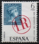 Stamps Spain -  Dia mundial del sello (Marca d´porteo)