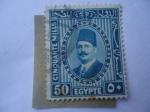 Stamps Egypt -  King Fuad I de Egipto (1868-1936)