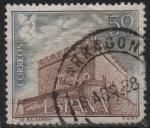 Stamps Spain -  Castillos d´España (Balsareny Barcelona)
