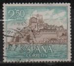 Stamps Spain -  Castillos d´España (Peñiscola Castellon)
