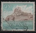 Sellos de Europa - España -  Castillos d´España (Peñiscola Castellon)
