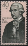 Stamps Spain -  Juan Francisco d´l´Bodega