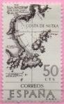 Sellos de Europa - España -  Costa d´Nutka