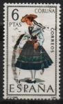 Stamps Spain -  Coruña