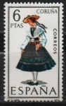 Stamps Spain -  Coruña