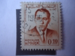 Stamps Morocco -  King Hassann II (1962-1965)
