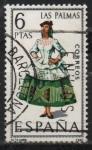 Stamps Spain -  Las Palmas