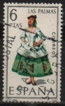 Stamps Spain -  Las Palmas