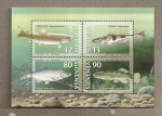 Stamps Europe - Slovenia -  Peces