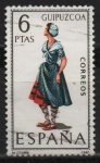 Stamps Spain -  Guipuzcua