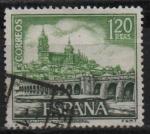 Stamps Spain -  Vista general d´Salamanca